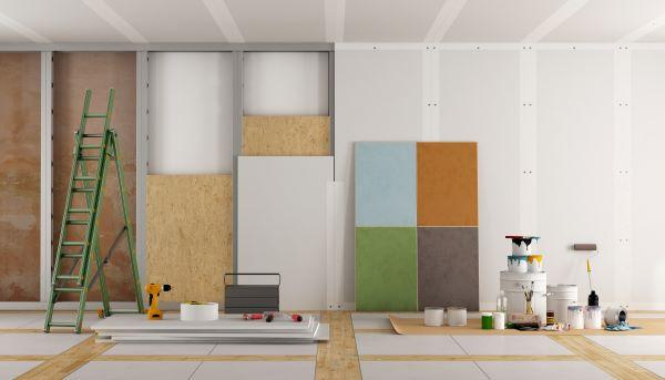 izolare pereti apartament interior