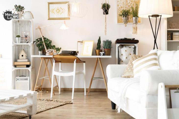 living beige decor golden canapea alba