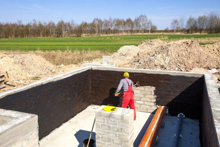 hidroizolare pereti fundatie casa noua