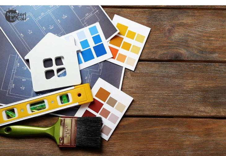 Casa culori pensula arhitectura casa unelte masura