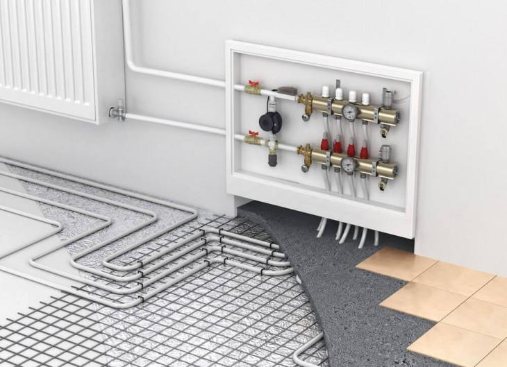 exemplu cabluri incalzire in pardoseala