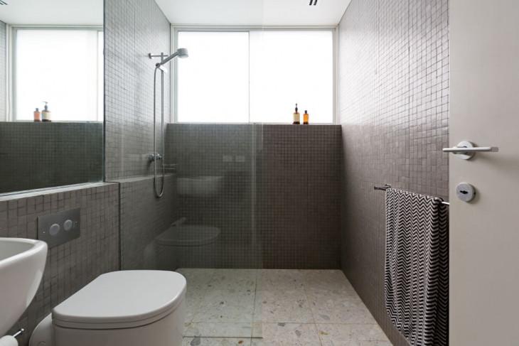 walk in shower modern gresie si faianta beige