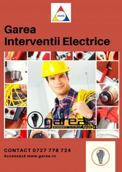 Interventii Electrice Garea